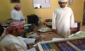 لجنة الزكاة بالبريمي تنهي توزيع المؤنة الرمضانية