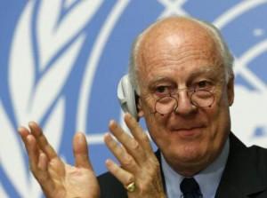 وسيط الأمم المتحدة يقترح مجموعات عمل لأطراف الصراع السوري