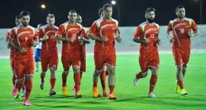 بعثة سوريا تصل السلطنة بثلاث لاعبين