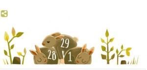 """محرك البحث الشهير """"جوجل"""" يحتفل بعام 2016 الميلادي باعتباره سنة كبيسة"""
