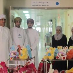 زيارة شركة وي كير لمستشفى الرستاق بمناسبة اليوم العالمي للعمل الإنساني