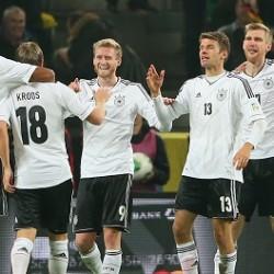 ألمانيا تكشر عن أنيابها بثلاثية في النرويج بتصفيات المونديال