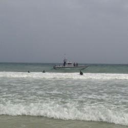 #غرق شخص في #البحر والجهود مستمرة في البحث