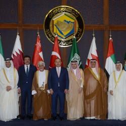 يوسف بن علوي في الاجتماع الوزاري المشترك للحوار الاستراتيجي بين دول المجلس وتركيا