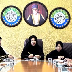 لجنة صاحبات الاعمال بغرفة الظاهرة تستعد للمشاركة في الاحتفال بيوم المرأة العمانية