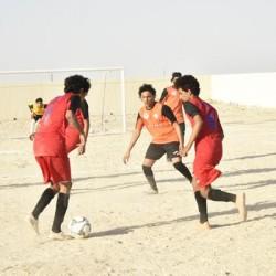 تواصل مباريات دوري عمان للمدارس بمحافظة الوسطى