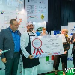 Ice Cream Mama Bags Award at The Gelato World Summit Contest