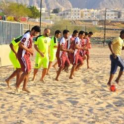 اضاف عنصرا جديدا الى القائمة.. منتخب كرة القدم الشاطئية يكثف استعداداته لنهائيات اسيا