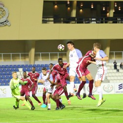 منتخب قطر وسوريا ينتصرون على منتخب امريكا وكندا في كأس العالم العسكرية