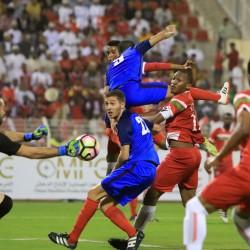 المنتخب العُماني و البحريني في ربع النهائي في كأس العالم العسكرية