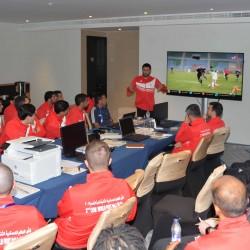 لجنة الحكام بكأس العالم العسكرية الثانية لكرة القدم تعقد اجتماعها اليومي