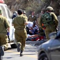 شاهد: لحظة دهس ٤ عسكريين أسرائيليين في القدس من قبل سائق شاحنة فلسطيني