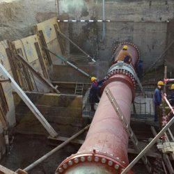 الانتهاء من تنفيذ أعمال خط نقل المياه الجديد بمسقط