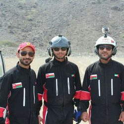 فريق الطيران الشراعي العماني يشارك في ماراثون الفجيرة الثاني0