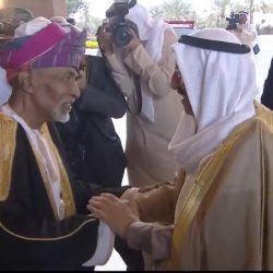 بالفيديو لحظة أستقبال جلالة السلطان قابوس أمير الكويت