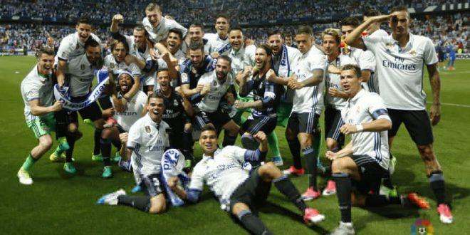 ريال مدريد بطل الليغا للمرة الـ33 في تاريخه