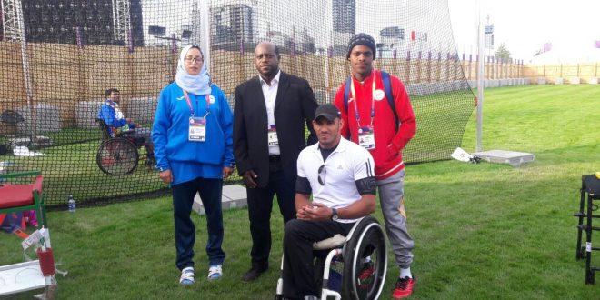 المشايخي يحقق المركز الرابع على مستوى العالم في بطولة لذوي الإعاقة