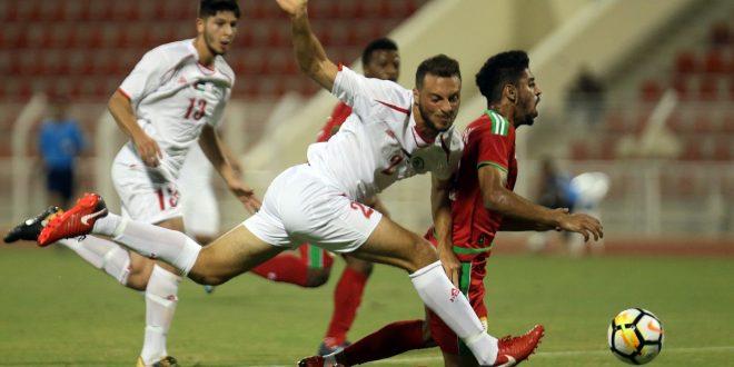 منتخبنا الأولمبي لكرة القدم يفوز على فلسطين وديا