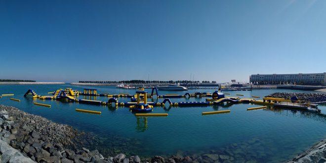 أفتتاح أول حديقة مائية عائمة في الباطنة