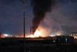 غارات أسرائيلية على مواقع حيوية بالقرب من دمشق و الدفاع الجوي السوري يرد