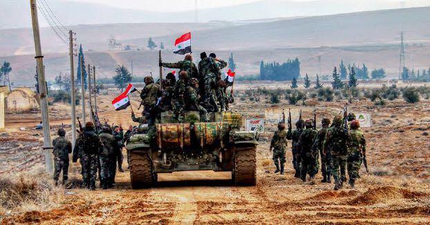 القوات السورية تسيطر على أكثر من ثلث الغوطة الشرقية
