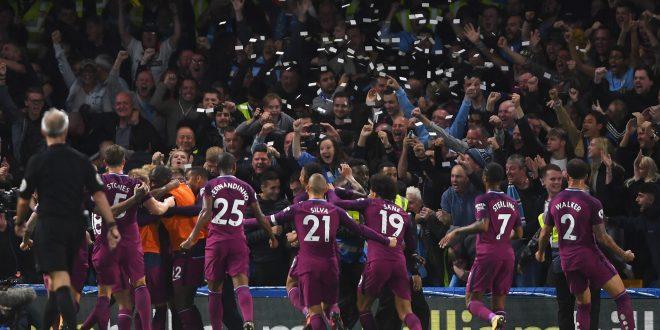 مانشستر سيتي بطل الدوري الإنجليزي عن كل جدارة واستحقاق