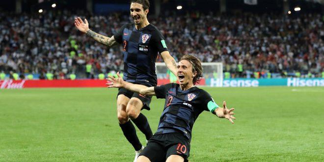 كرواتيا تتغلب على الأرجنتين بثلاثية وتتأهل لدور الـ16