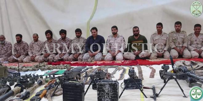جيش العدل يهدد بأعدام 14 عسكريا أيرانيا
