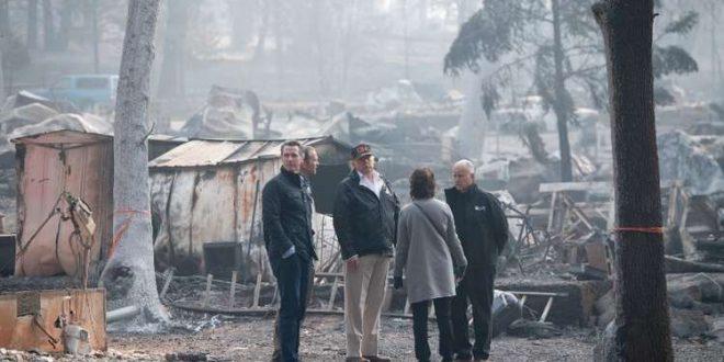 76 قتيلا و1276 مفقودا في أحدث حصيلة لحرائق كالفورنيا