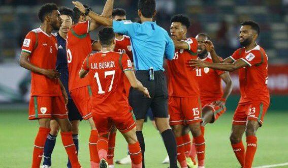 منتخبنا الوطني العماني يخسر امام اليابان بظلم تحكيمي