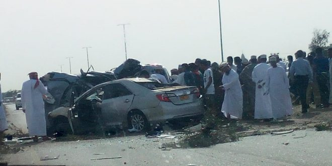 وفاة شخصين في حادث تصادم مركبتين في ولاية المصنعة