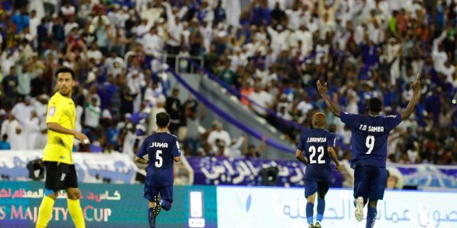 نادي صور بطلا لـ كأس جلالة السلطان المعظم لكرة القدم