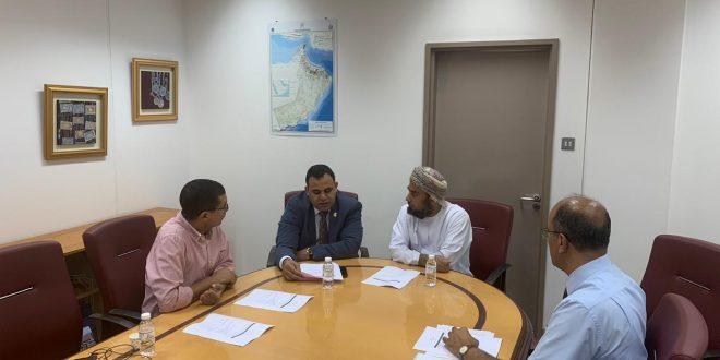 بحث التعاون البحثي بين كلية التربية بجامعة السلطان قابوس وكلية التربية بجامعة أسيوط