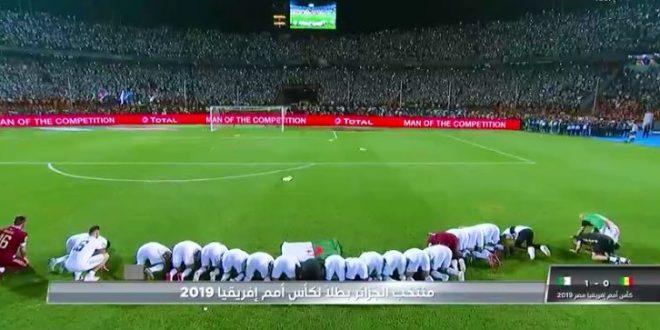 المنتخب الجزائري يتوّج بطلًا لكأس الأمم الإفريقية 2019