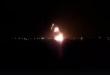 طائرات الجيش الوطني الليبي تدمر طائرة شحن عسكري في قاعدة مصراته الجوية