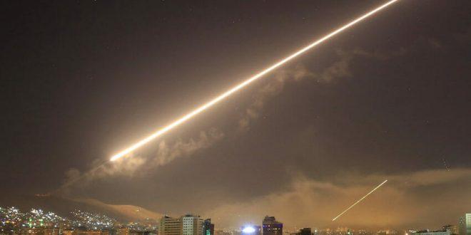الجيش الأسرائيلي يعترض صواريخ سورية فوق سماء الجولان المحتل