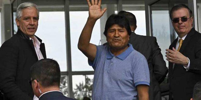 الرئيس البوليفي موراليس يصل الى المكسيك بعد منحه اللجوء السياسي