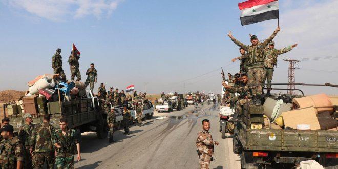 الجيش السوري يحقق تقدما هاما و يطرق أبواب مدينة معرة النعمان
