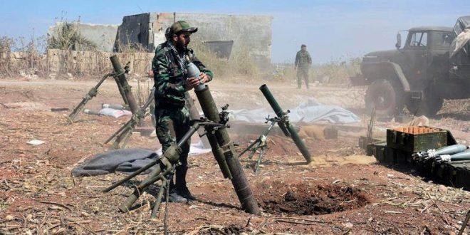 الجيش السوري يكتسح مواقع المعارضة في أدلب