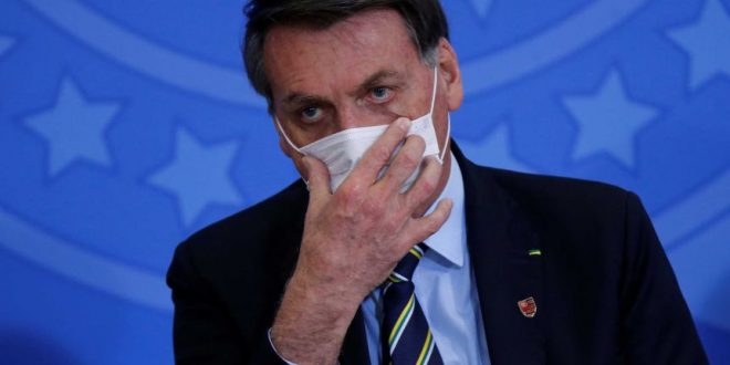 أصابة الرئيس البرازيلي بفايروس كورونا